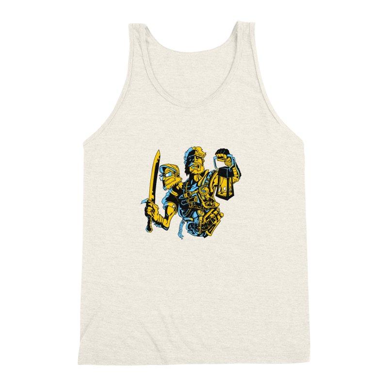 2-Headed Hero Men's Triblend Tank by