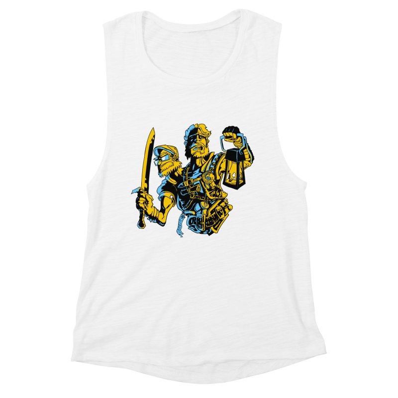 2-Headed Hero Women's Muscle Tank by