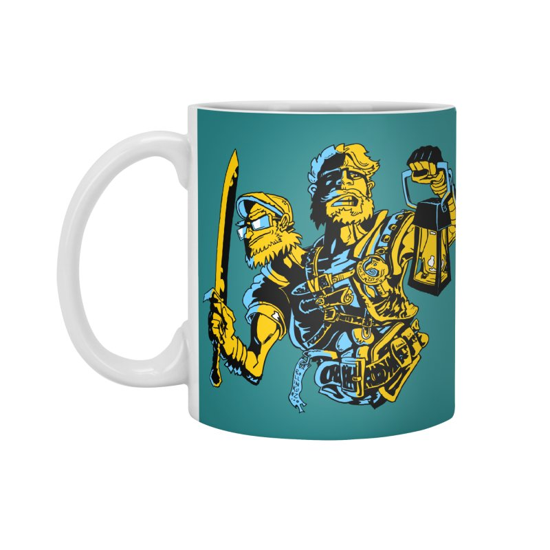 2-Headed Hero Accessories Mug by