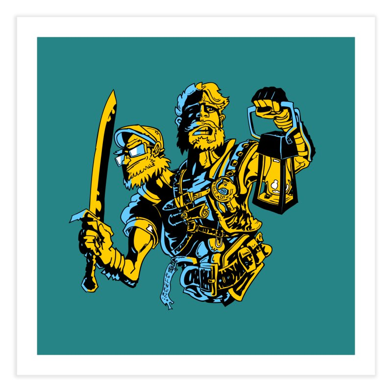 2-Headed Hero Home Fine Art Print by