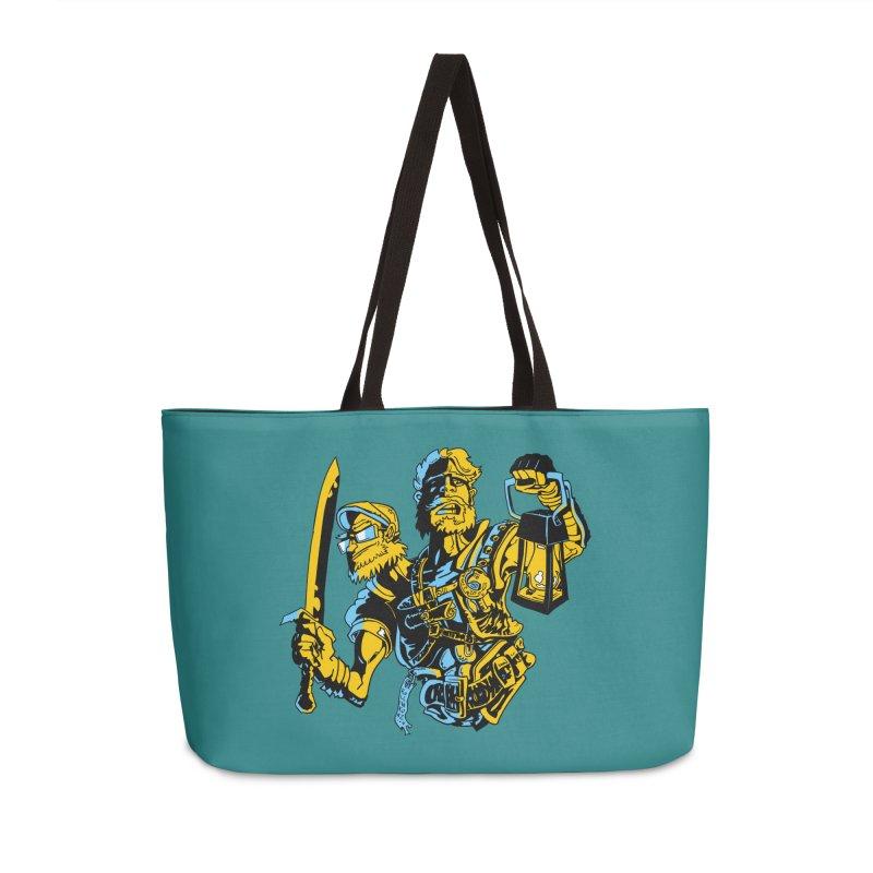 2-Headed Hero Accessories Weekender Bag Bag by
