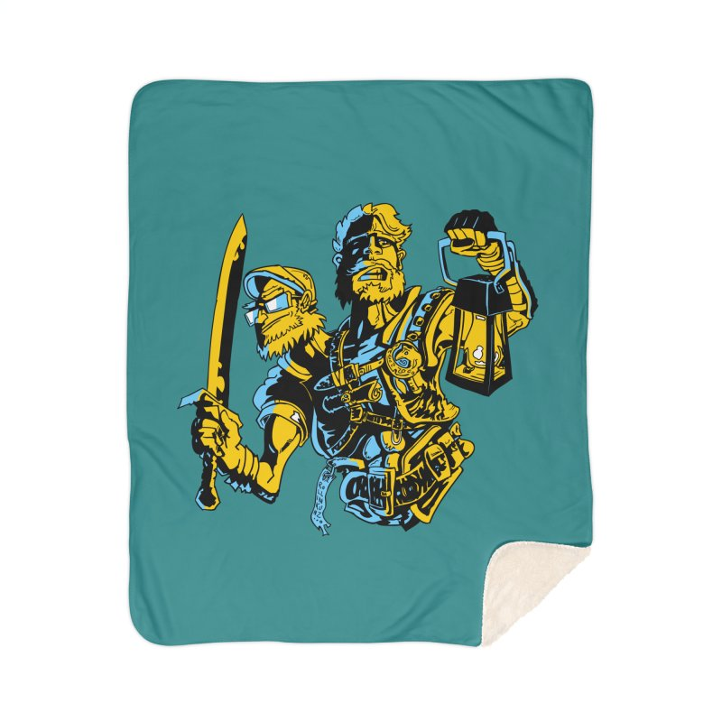 2-Headed Hero Home Blanket by
