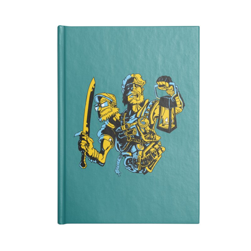 2-Headed Hero Accessories Blank Journal Notebook by