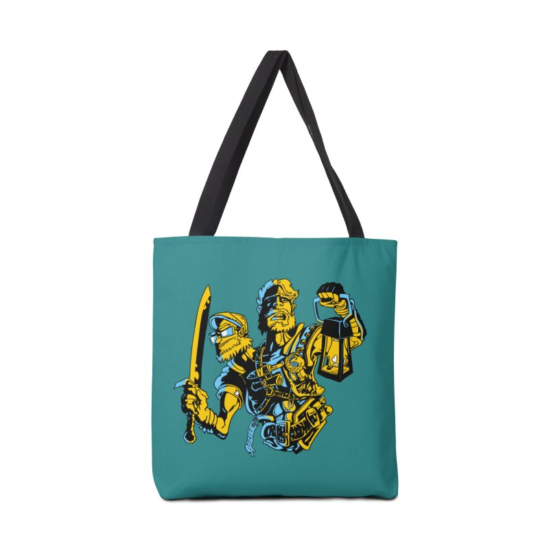 2-Headed Hero Accessories Tote Bag Bag by