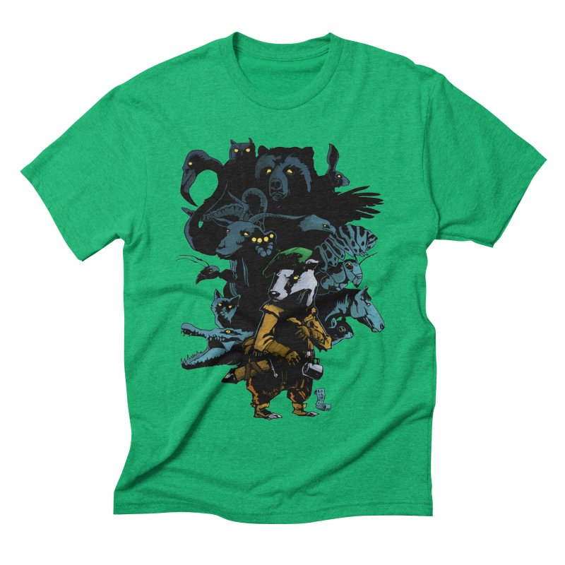 Chunt, King of the Badger Men's Triblend T-Shirt by
