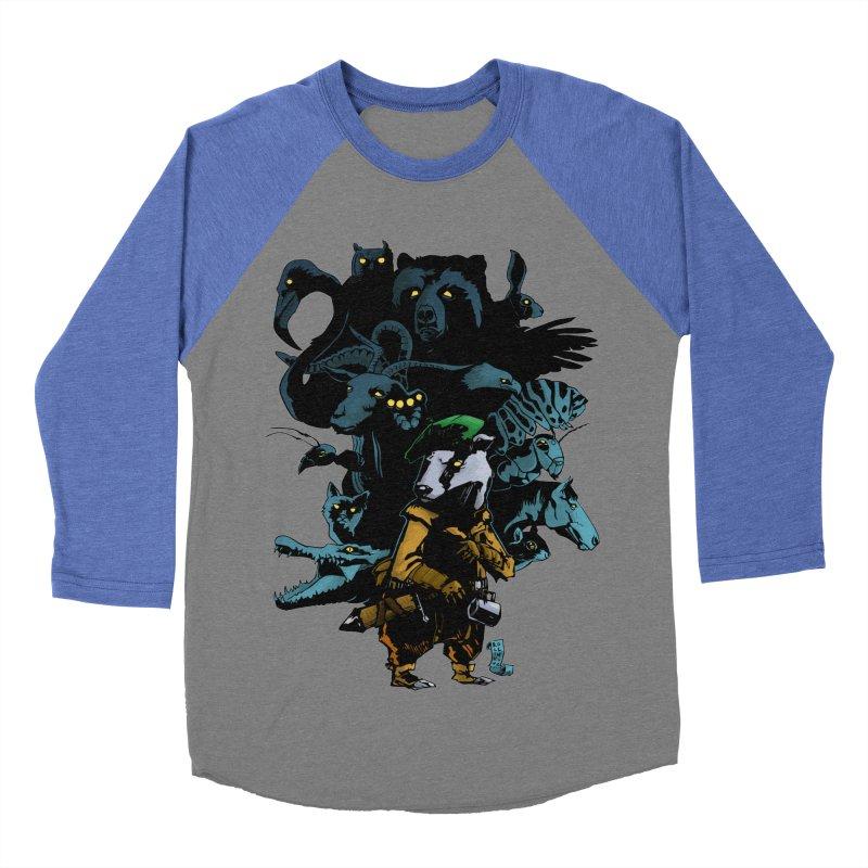 Chunt, King of the Badger Men's Baseball Triblend Longsleeve T-Shirt by