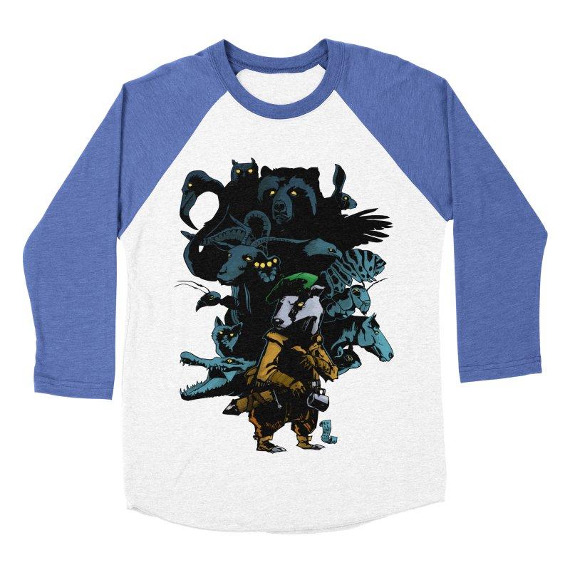 Chunt, King of the Badger Men's Baseball Triblend T-Shirt by