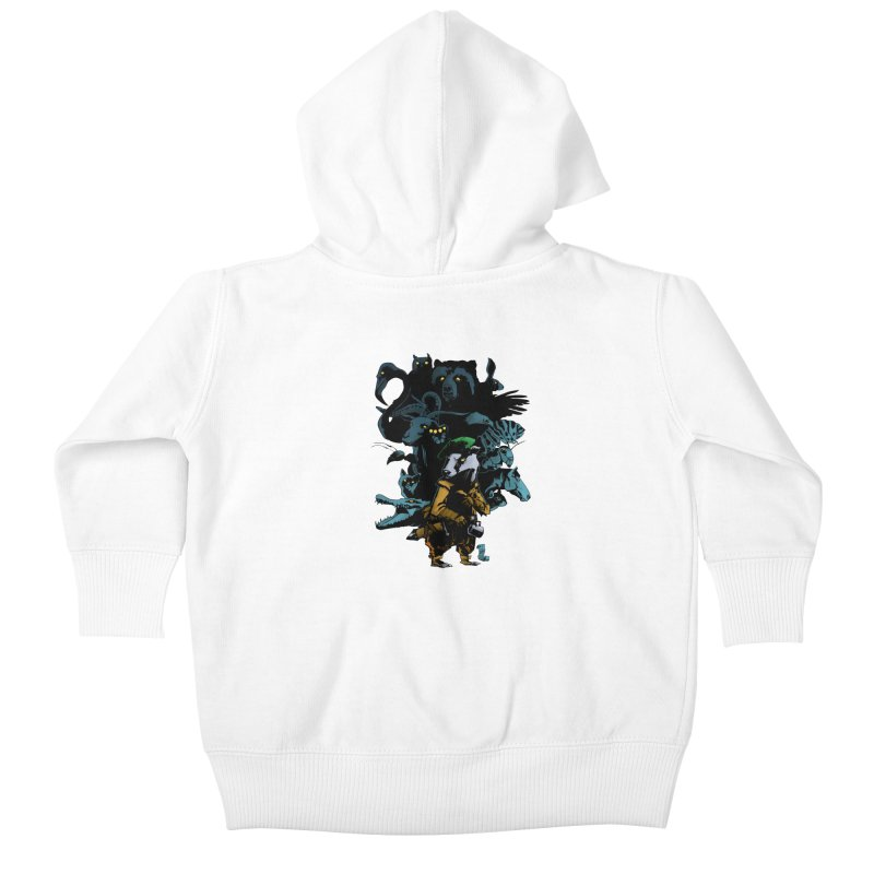 Chunt, King of the Badger Kids Baby Zip-Up Hoody by