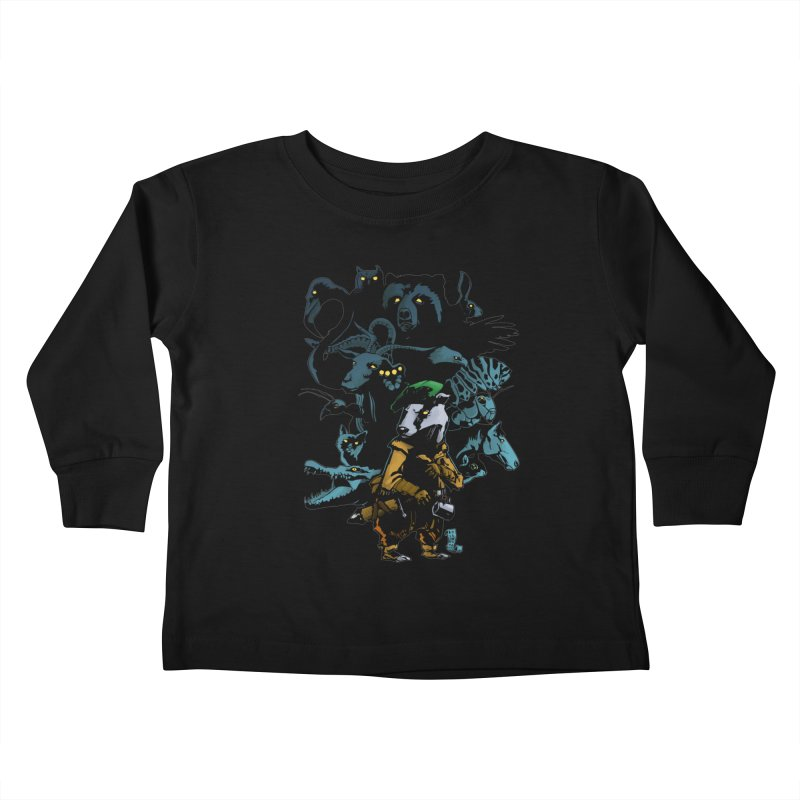 Chunt, King of the Badger Kids Toddler Longsleeve T-Shirt by