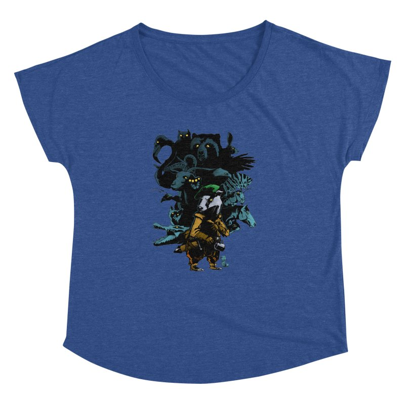 Chunt, King of the Badger Women's Dolman by