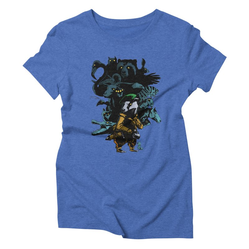 Chunt, King of the Badger Women's Triblend T-Shirt by