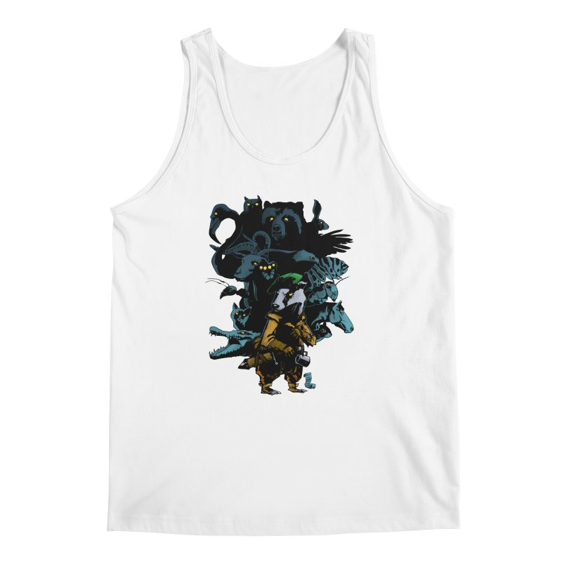 Chunt, King of the Badger Men's Tank by