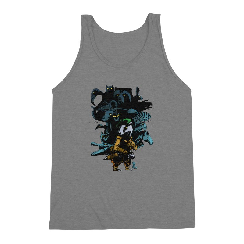 Chunt, King of the Badger Men's Triblend Tank by
