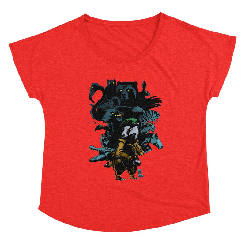 Chunt, King of the Badger Women's Scoop Neck by