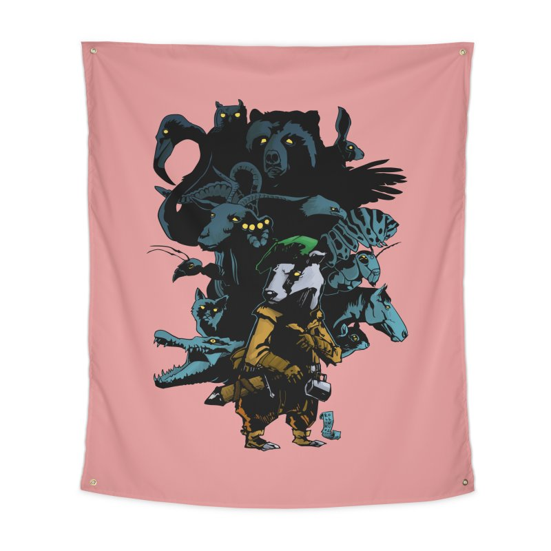 Chunt, King of the Badger Home Tapestry by