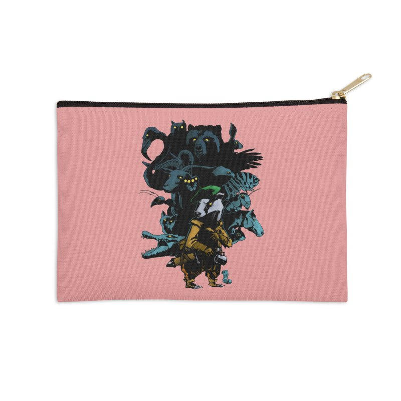 Chunt, King of the Badger Accessories Zip Pouch by