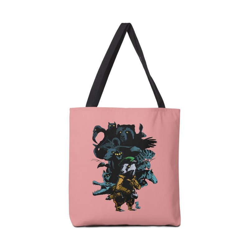 Chunt, King of the Badger Accessories Bag by