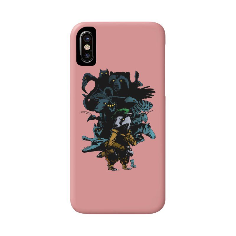 Chunt, King of the Badger Accessories Phone Case by