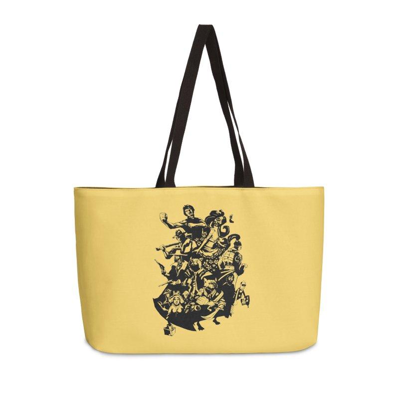 One Shot Roundup Accessories Weekender Bag Bag by
