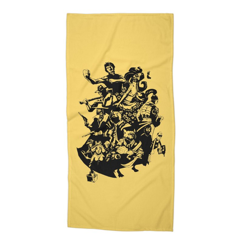 One Shot Roundup Accessories Beach Towel by
