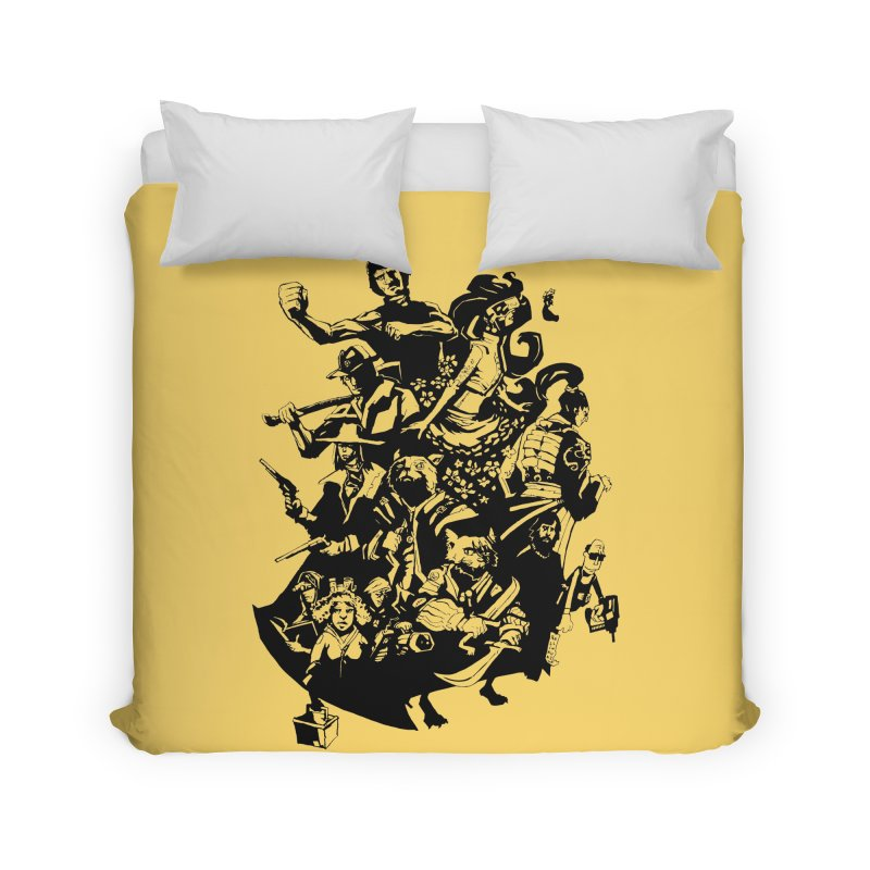 One Shot Roundup Home Duvet by