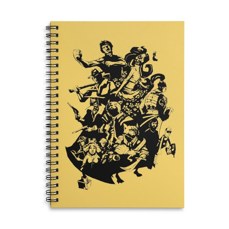 One Shot Roundup Accessories Notebook by