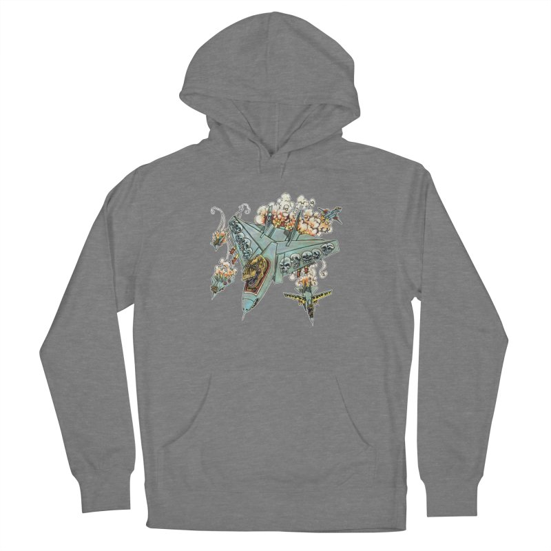 Tyrannosquadron Rocks Men's French Terry Pullover Hoody by