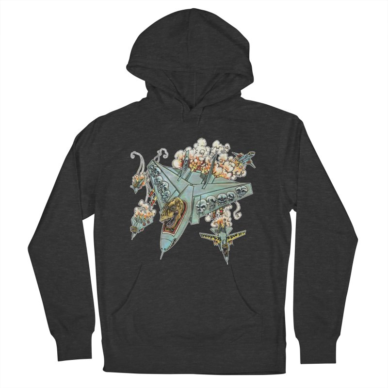 Tyrannosquadron Rocks Women's French Terry Pullover Hoody by