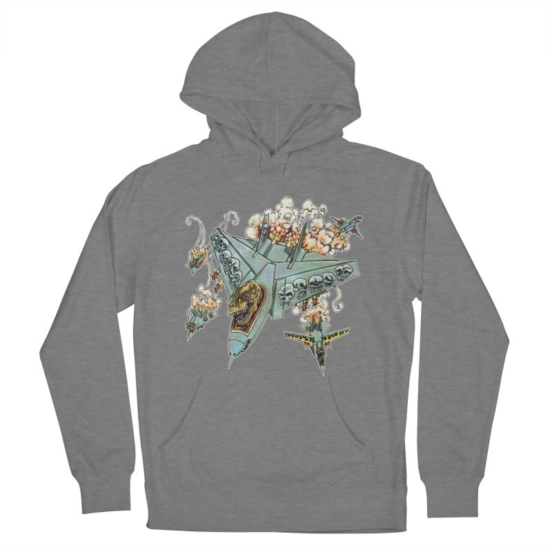 Tyrannosquadron Rocks Women's Pullover Hoody by
