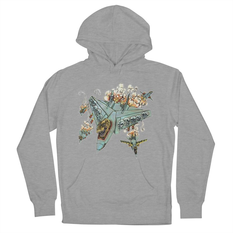Tyrannosquadron Rocks Men's Pullover Hoody by