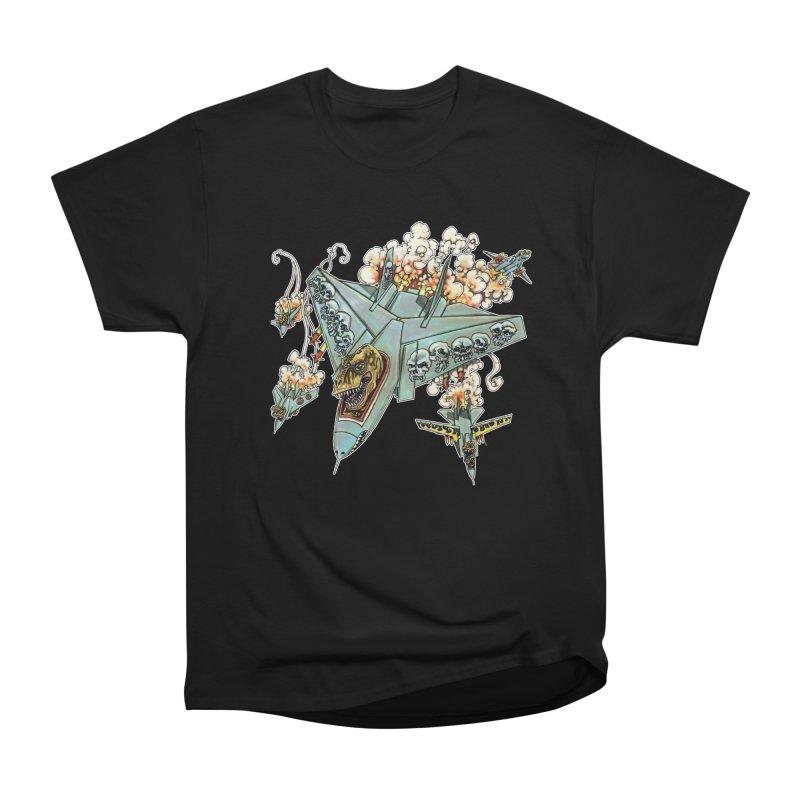 Tyrannosquadron Rocks Women's Heavyweight Unisex T-Shirt by