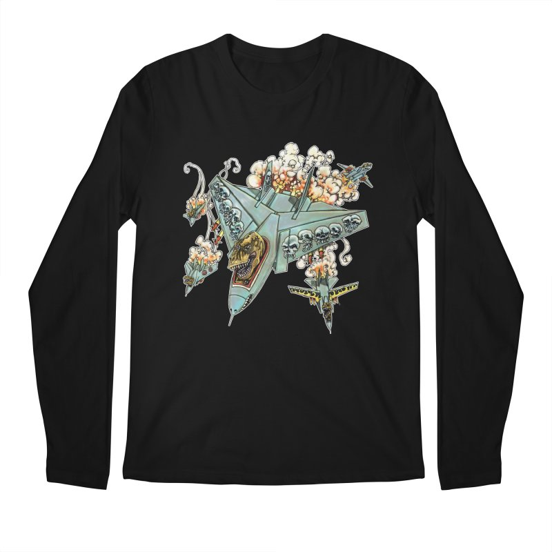 Tyrannosquadron Rocks Men's Longsleeve T-Shirt by