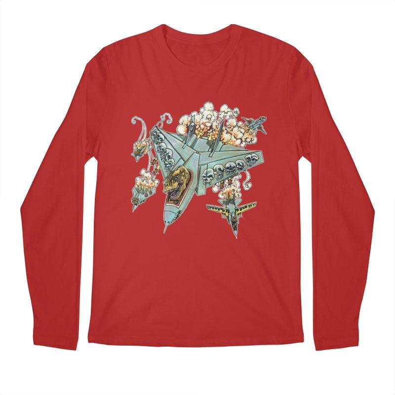 Tyrannosquadron Rocks Men's Longsleeve T-Shirt by