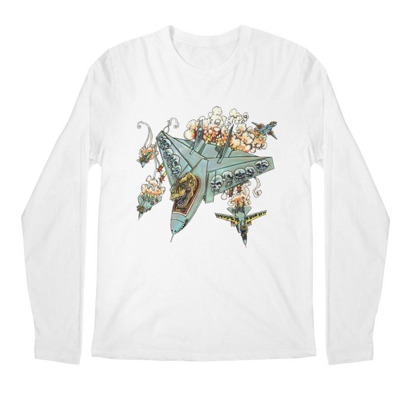 Tyrannosquadron Rocks Men's Regular Longsleeve T-Shirt by