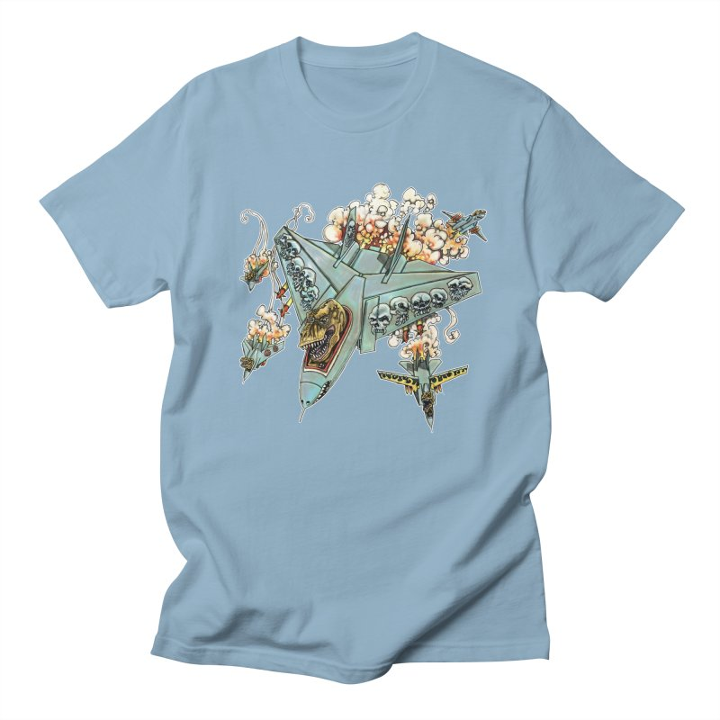 Tyrannosquadron Rocks Men's Regular T-Shirt by