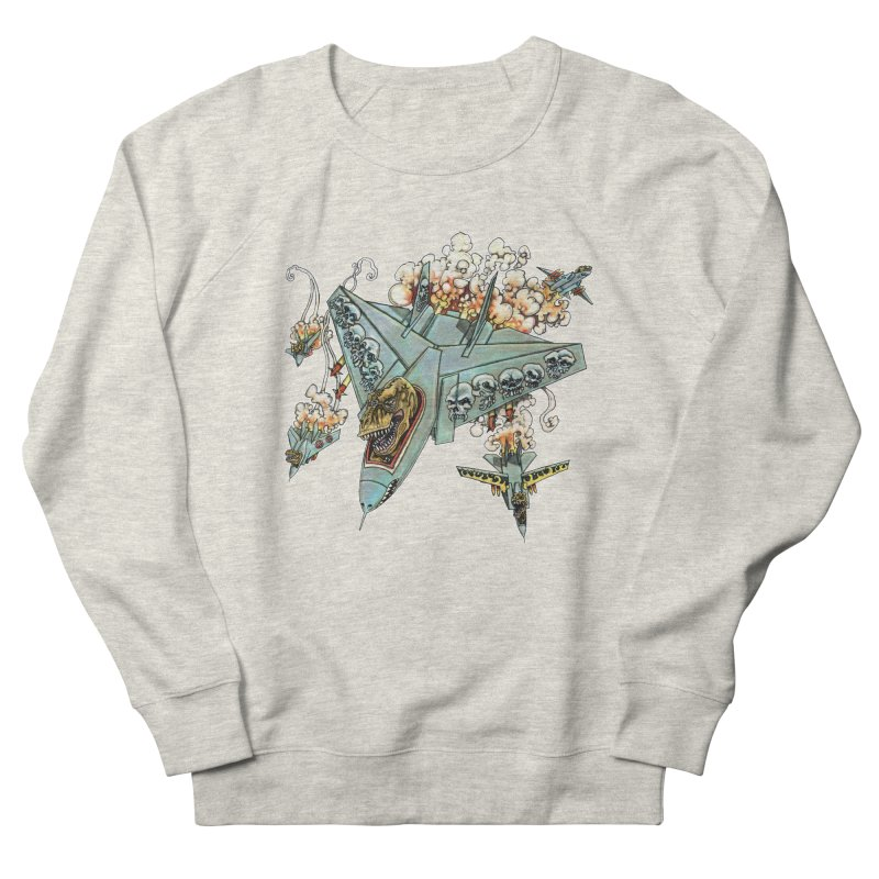 Tyrannosquadron Rocks Women's French Terry Sweatshirt by