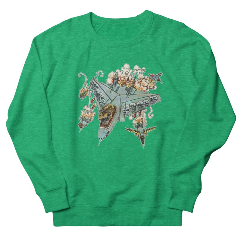 Tyrannosquadron Rocks Men's French Terry Sweatshirt by
