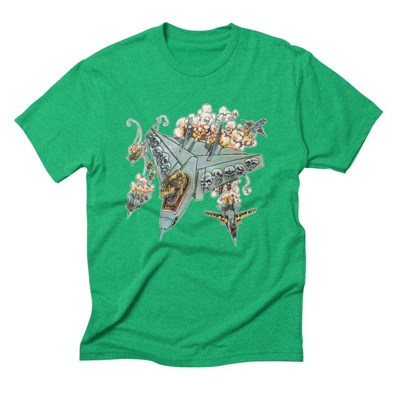 Tyrannosquadron Rocks Men's Triblend T-Shirt by