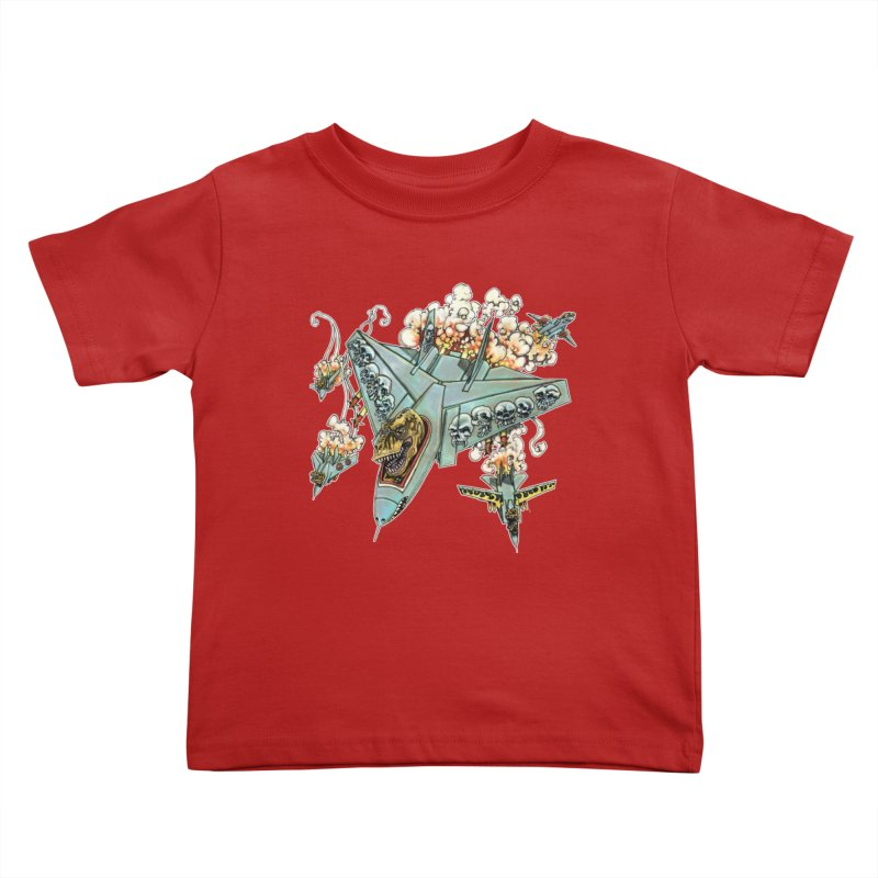 Tyrannosquadron Rocks Kids Toddler T-Shirt by