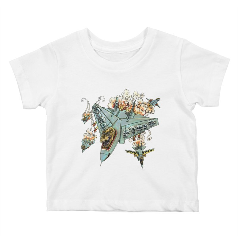 Tyrannosquadron Rocks Kids Baby T-Shirt by