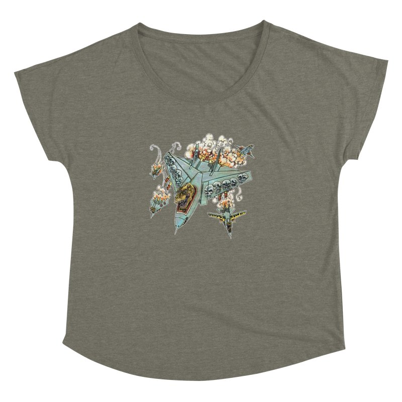 Tyrannosquadron Rocks Women's Dolman by