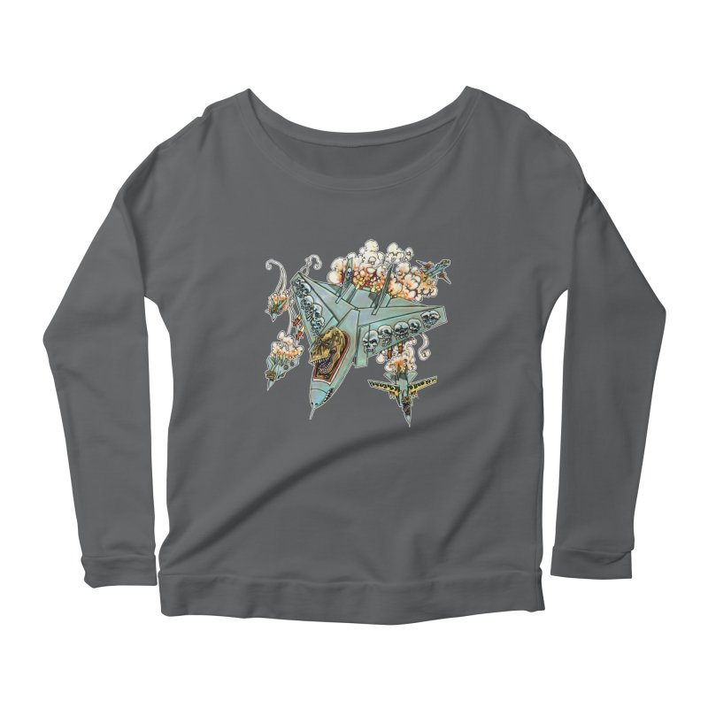 Tyrannosquadron Rocks Women's Longsleeve T-Shirt by
