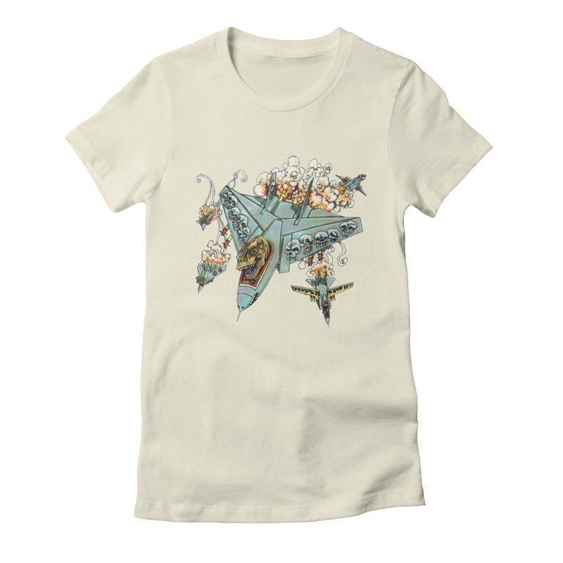 Tyrannosquadron Rocks Women's T-Shirt by
