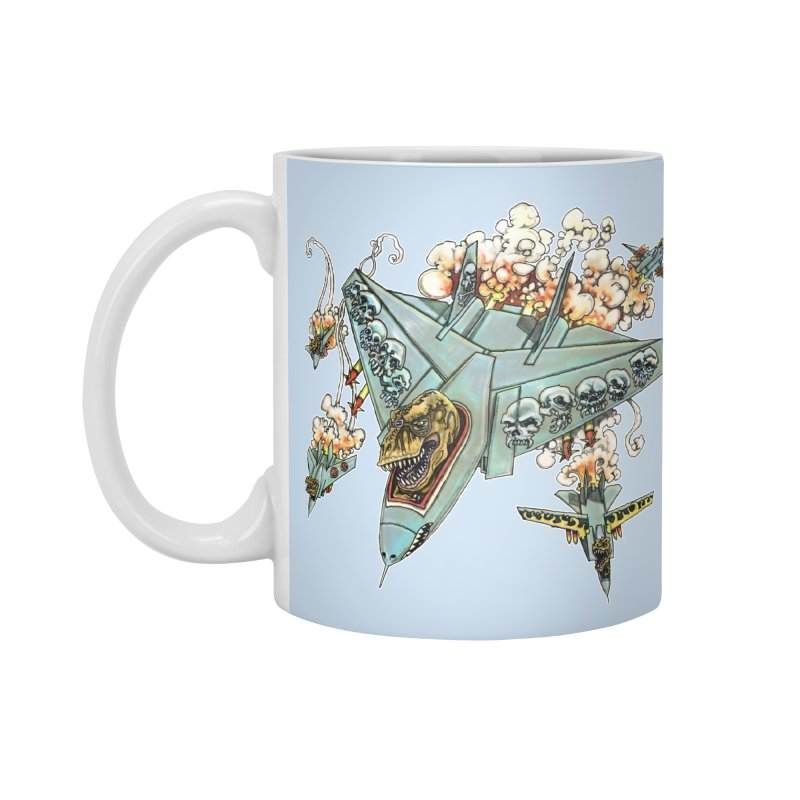 Tyrannosquadron Rocks Accessories Mug by