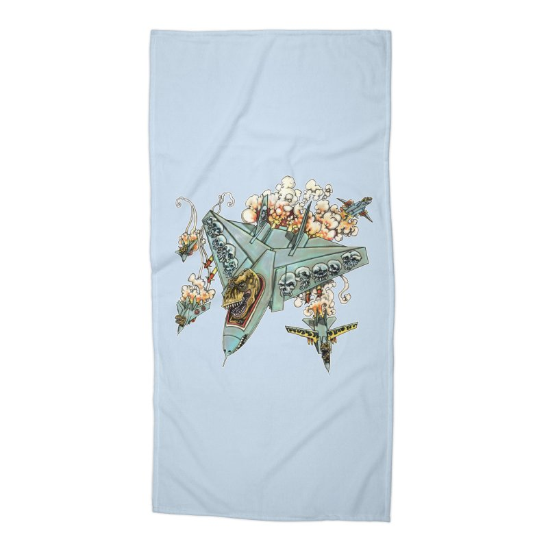 Tyrannosquadron Rocks Accessories Beach Towel by