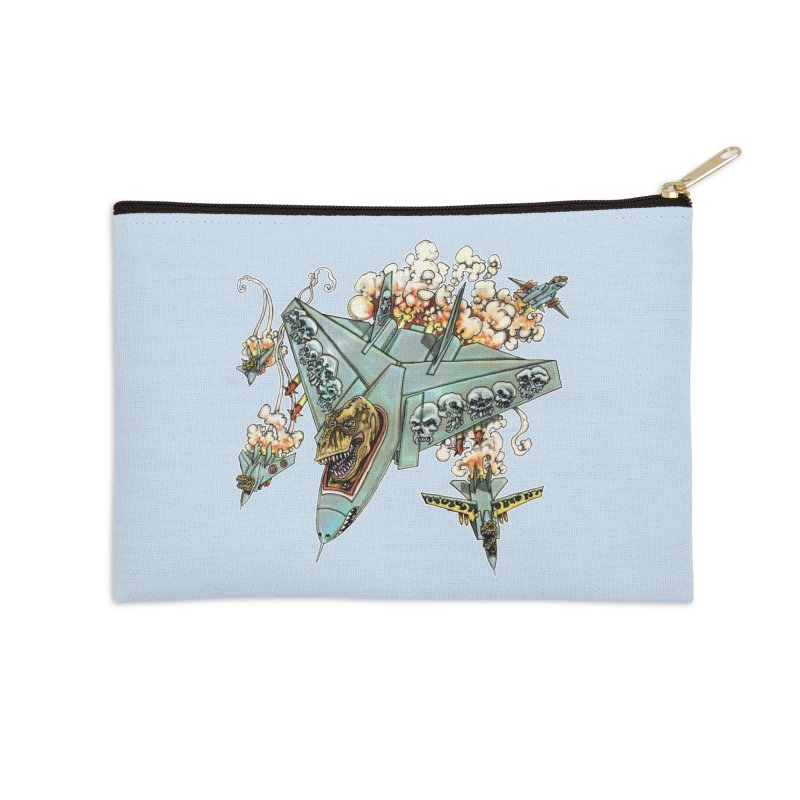 Tyrannosquadron Rocks Accessories Zip Pouch by