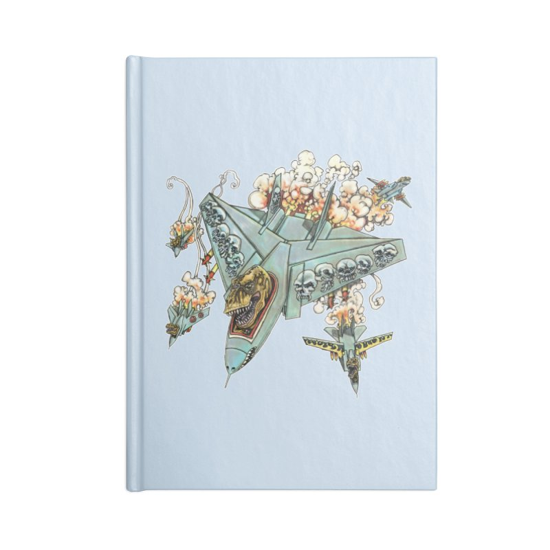 Tyrannosquadron Rocks Accessories Blank Journal Notebook by