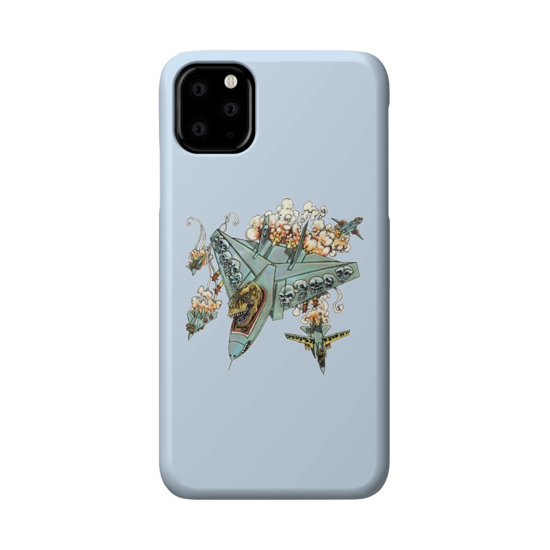 Tyrannosquadron Rocks Accessories Phone Case by