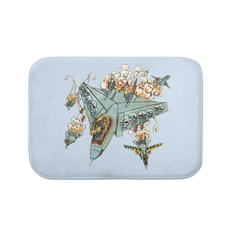 Tyrannosquadron Rocks Home Bath Mat by