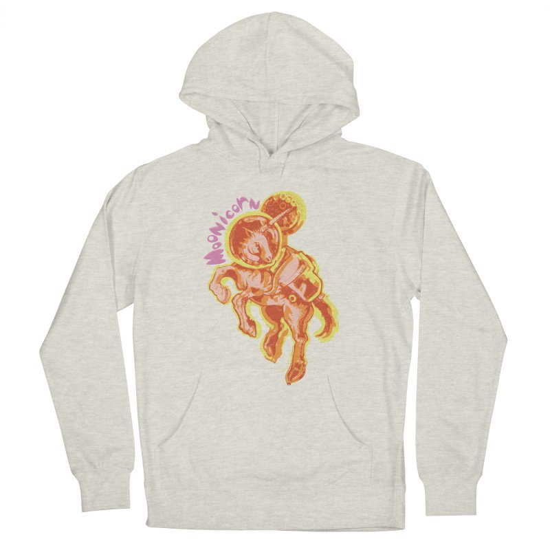 Moonicorn Women's French Terry Pullover Hoody by